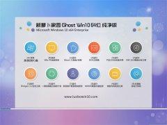 新萝卜家园Win10 64位 大师纯净版 2021.06